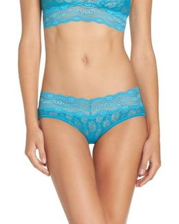 'lace Kiss' Hipster Briefs