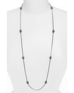 'classics' Long Station Necklace