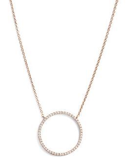 'simple Obsessions' Circle Pendant Necklace (nordstrom Exclusive)