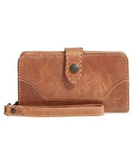 'melissa' Leather Phone Wallet