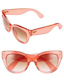 'sharlots' 52mm Sunglasses - Havana