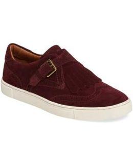 'gemma' Kiltie Slip On-sneaker