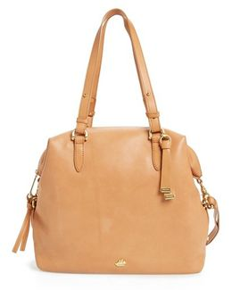 Charleston Delaney Southcoast Leather Tote