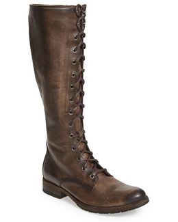 'melissa' Tall Lace-up Boot