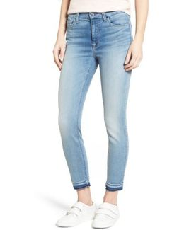 Release Hem Stretch Ankle Skinny Jeans