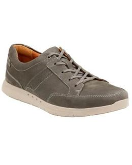 Clarks 'unstructured - Lomac' Leather Sneaker