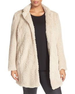 'original Teddy' Faux Fur Coat