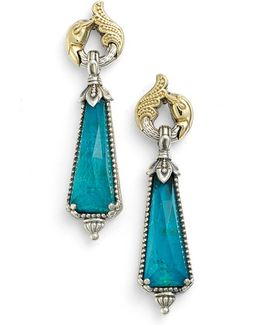 'iliada' Doublet Drop Earrings