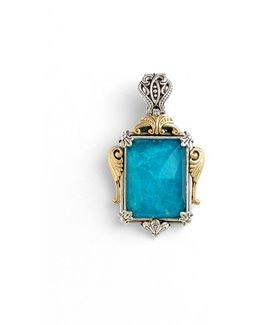 'iliada' Rectangle Pendant