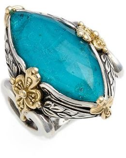 'iliada' Marquise Doublet Ring