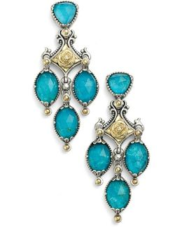 'iliada' Double Chandelier Earrings