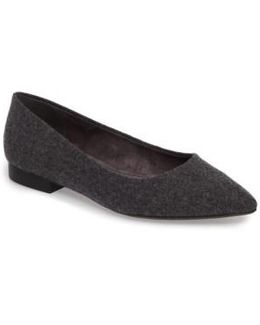'vivien' Pointy Toe Flat