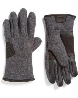 Ugg Wool Blend Tech Gloves