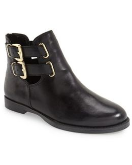 'ramona' Double Buckle Bootie