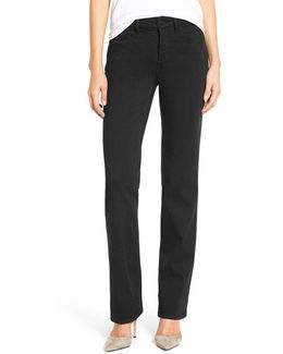 Marilyn Stretch Twill Straight Leg Pants