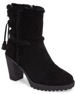 Jen Genuine Shearling Lined Water Resistant Boot