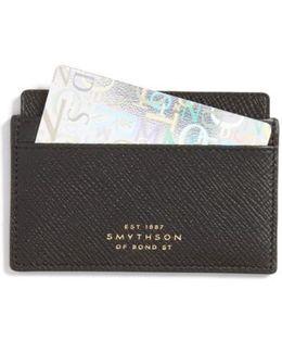 'panama' Leather Card Case