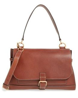 'small Buckle' Leather Shoulder Bag