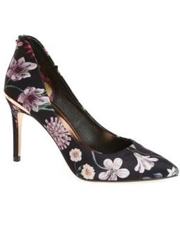 Ted Baker Savei Citrus Bloom Pointy Toe Pump