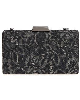 Chantilly Lace Box Clutch