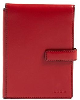 Audrey Rfid Leather Passport Wallet