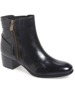 Delta Leather Ankle Boots