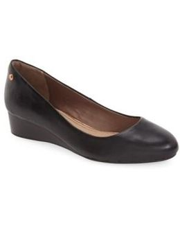 Hush Puppies 'dot Admire' Wedge Pump