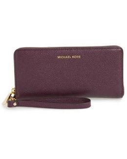 'mercer' Leather Continental Wallet
