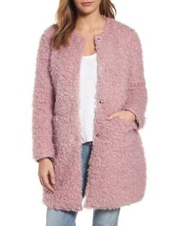 Reversible Faux Fur Coat
