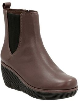 Clarks 'clarene Surf' Wedge Chelsea Boot