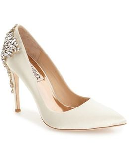 'gorgeous' Crystal Embellished Pointy Toe Pump