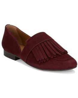 'harlow' Kiltie Leather Loafer