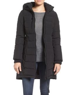 Quilted Hooded Puffer Coat