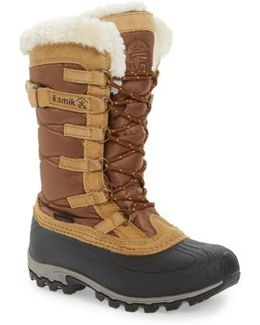 Snowvalley Waterproof Boot With Faux Fur Cuff