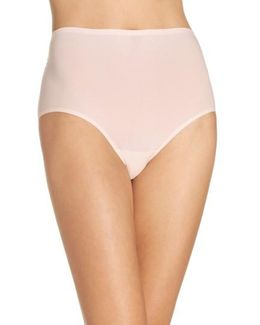 Soft Stretch High Waist Seamless Briefs
