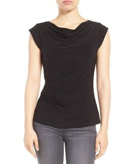 Cowl Neck Shell Top