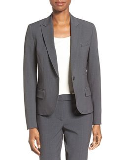 One-button Suit Jacket