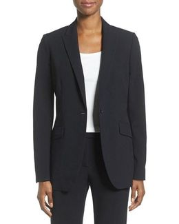 Long Boyfriend Suit Jacket