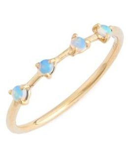 Counting Collection 4-step Opal Ring
