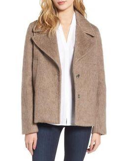 Plaid Swing Coat
