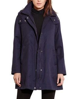 A-line Jacket With Removable Liner
