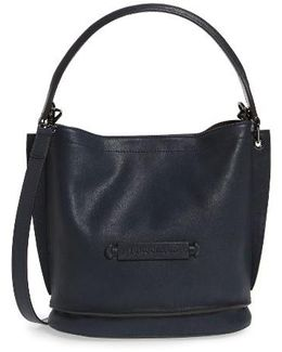 '3d' Leather Crossbody Hobo