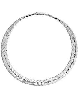 'classic Chain' Chain Collar Necklace