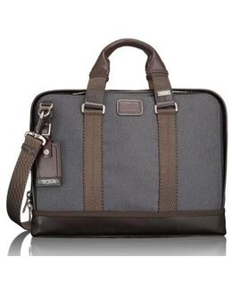'alpha Bravo - Andrews' Slim Briefcase