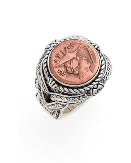 'aeolus - Hermes' Coin Ring