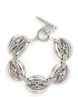 'penelope' Cross Link Bracelet