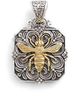 'penelope' Bee Locket Pendant