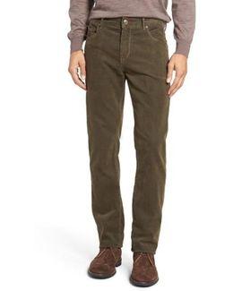 Slim Fit Corduroy Pants
