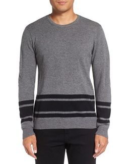 Stripe Wool Blend Sweater