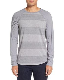 Variegated Stripe Long Sleeve T-shirt